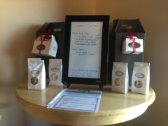 Party Packs of wine and cookies to host your own wine tasting party!